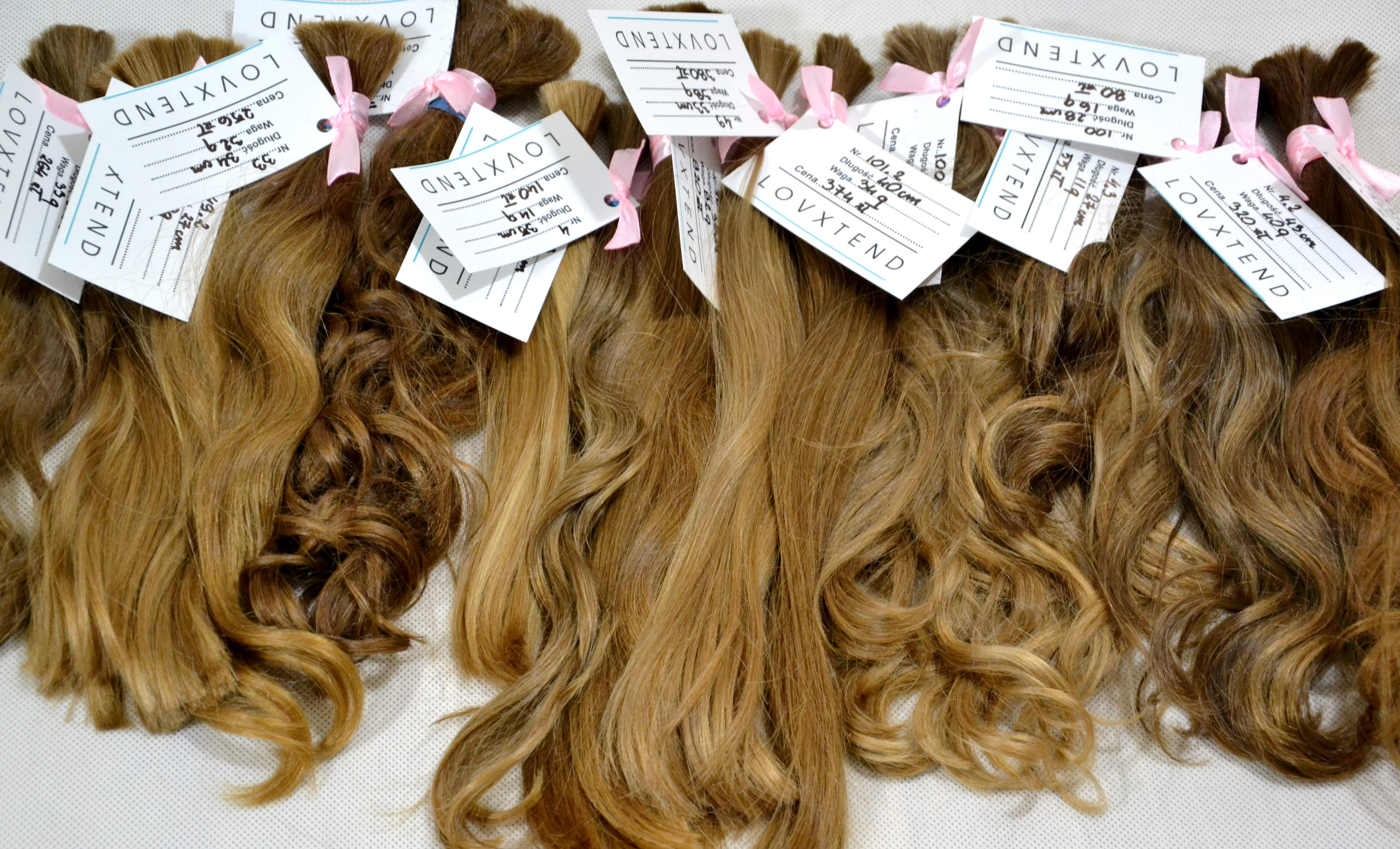 włosy niefarbowane - włosy dziewicze do przedłużania